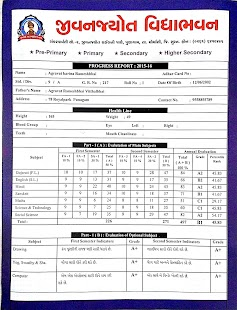 report in gujarati sub clean of school All elementary students receive a report card at the end of each nine-week reporting period it outlines the student's progress in meeting the state standards for his or her grade.
