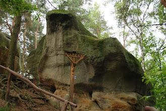 Photo: rzeczywiście bardzo podobna skała