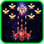 Chicken Shooter: Space Defense Icon
