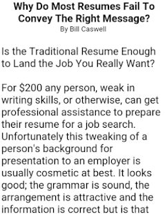 resume samples screenshot thumbnail