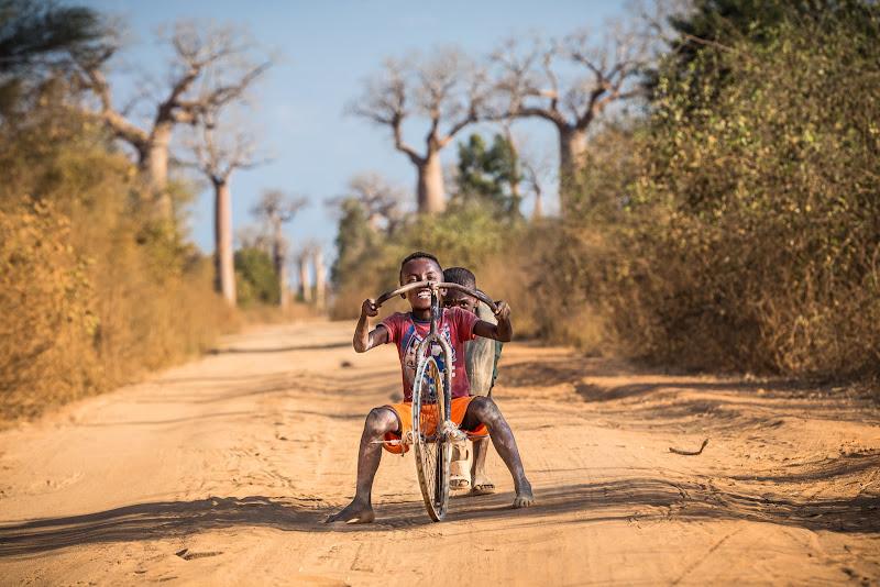 Fun among the baobabs di Marco Tagliarino