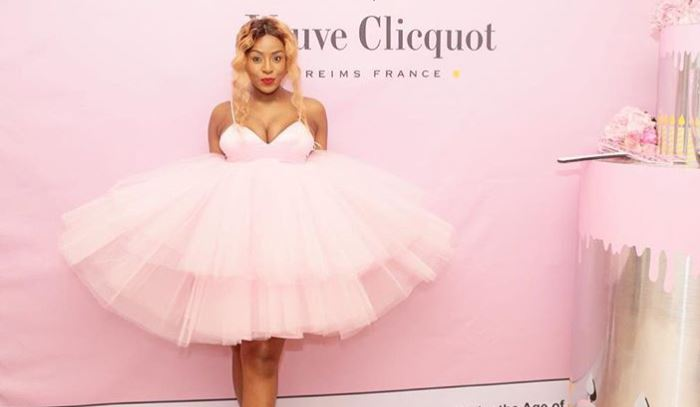 Jessica Nkosi recently stepped out in an outfit hiding her baby bump.