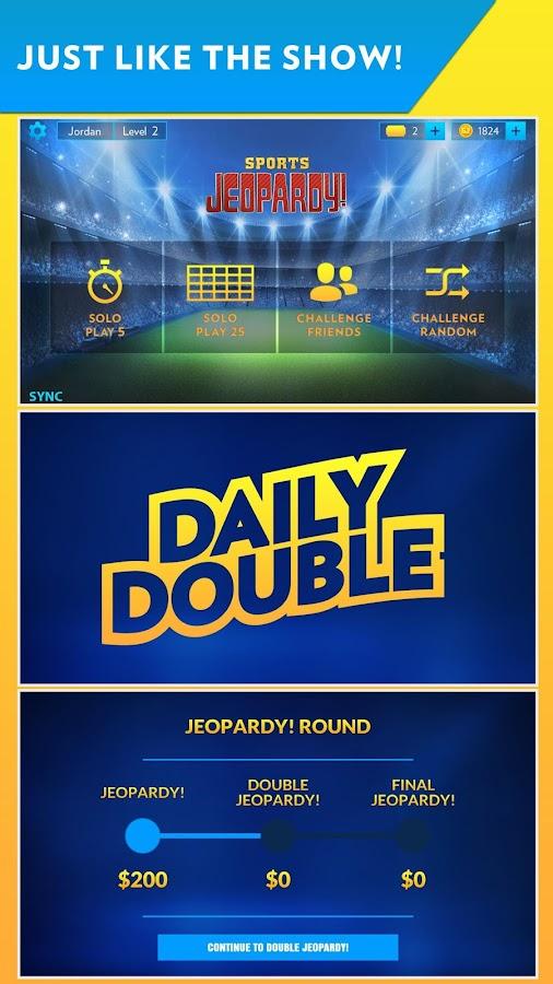 Sports Jeopardy!- screenshot
