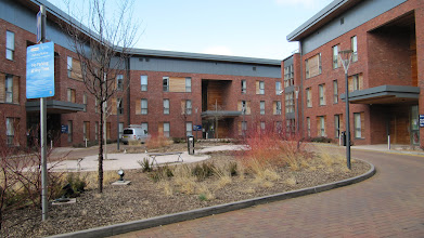 Photo: Student flats on St. John's Campus, University of Worcester