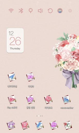 Bouquet for U Launcher Theme