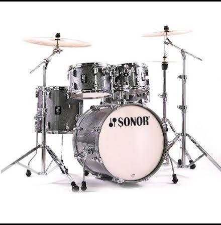 Sonor AQ2 - 20/10/12/14/14s. Finish: Titanium Quartz