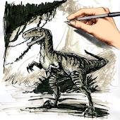 Draw Jurassic Predators World