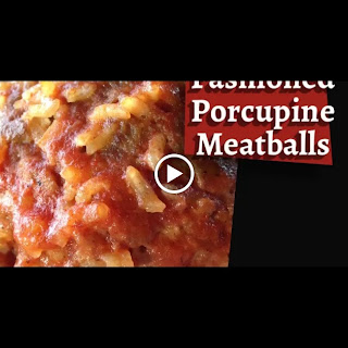Old Fashioned Porcupine Meatballs.