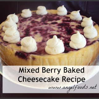 Mixed Berry Cheesecake Recipes