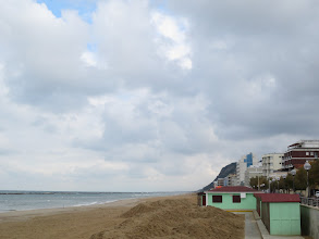 Photo: By the Sea in Pesaro