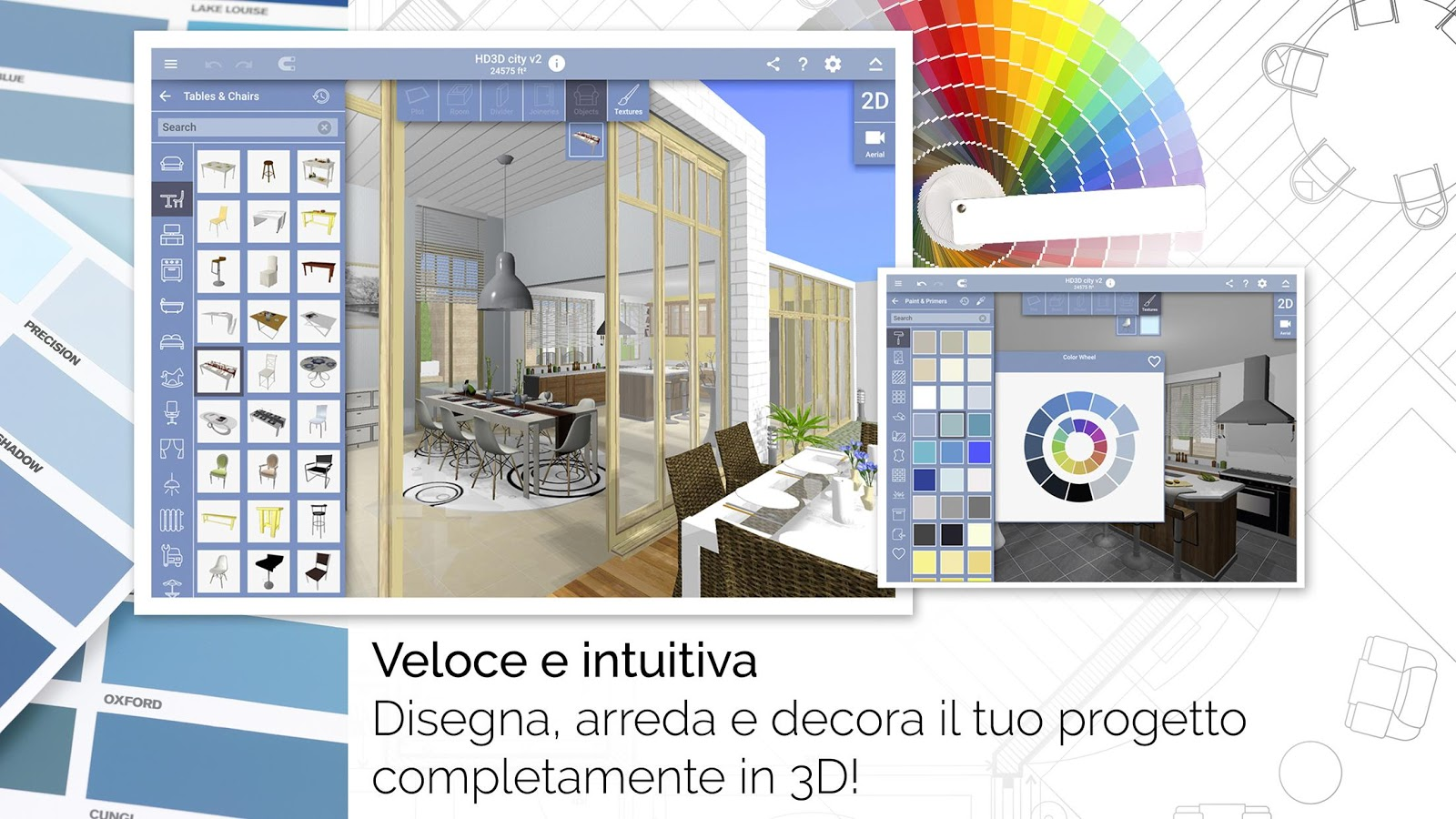 Home design 3d freemium app android su google play for Disegna i tuoi piani di casa gratuitamente