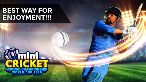 Cricket World Cup Game 2019 – Mini Ground Cricket 3.4 screenshots 1