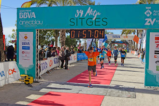 Photo: 34ª Mitja Marató de Sitges 15/1/17