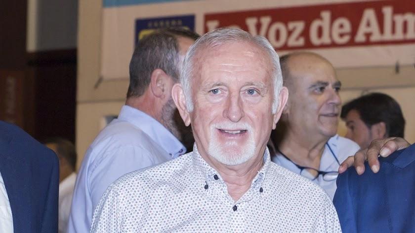 Antonio López, presidente de los regantes de Níjar.