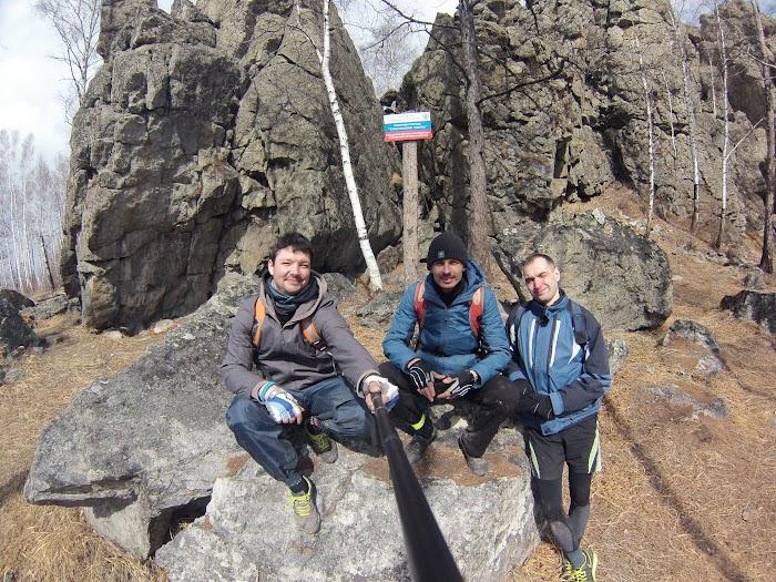 Достопримечательности Читы - Смоленские скалы