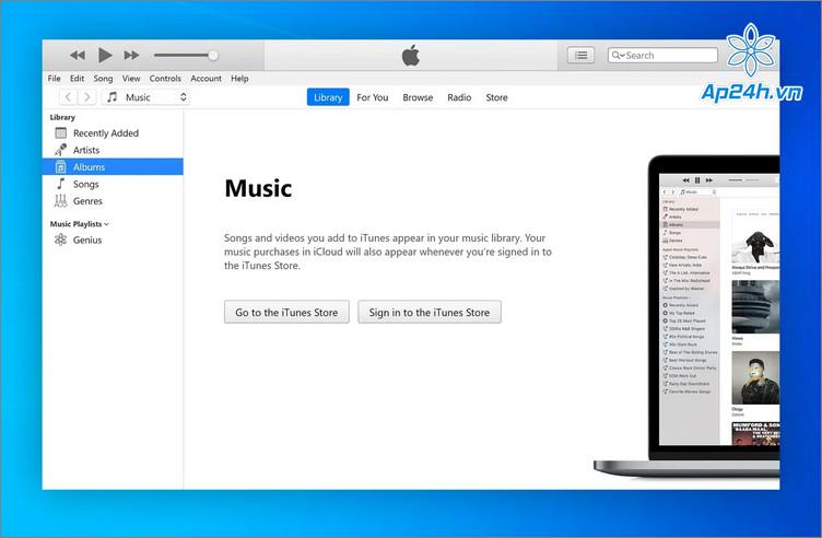 Apple đã ngừng hỗ trợ iTunes trên máy tính từ 2019