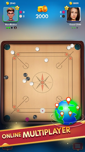 Carrom Kingu2122 - Best Online Carrom Board Pool Game 2.9.0.55 screenshots 2
