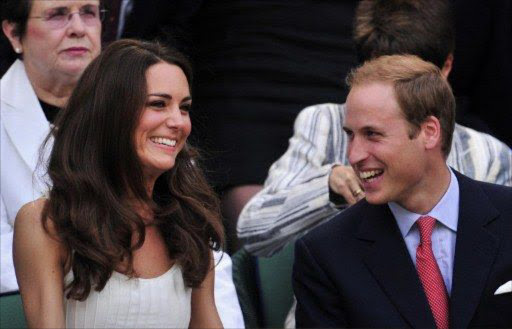 Britain's Prince William and his wife Catherine the Duchess of Cambridge