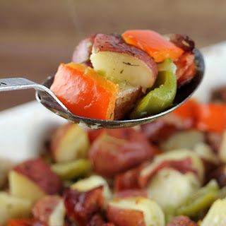 Smoked Polish Sausage and Potato Bake
