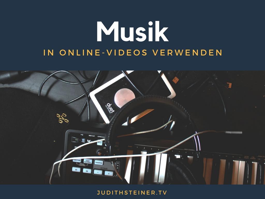 Ratgeber: Musik für Online-Videos