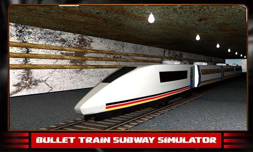 子弹头列车地铁模拟器