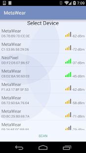 MetaWear- screenshot thumbnail