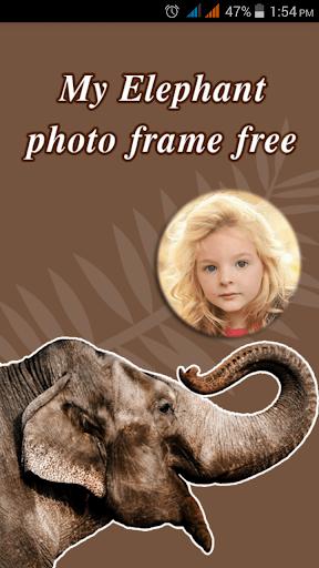 My Elephant Photo Frames Free