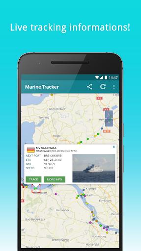 Marine Tracker - Maritime traffic - Ship radar by Tracking