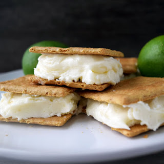Key Lime Stuffed Graham Cracker Dessert Sandwiches