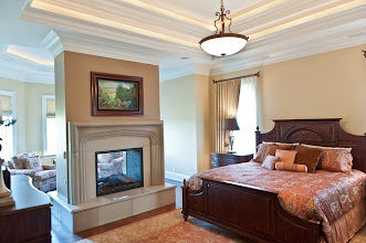 Photo: bedroom fireplace complete