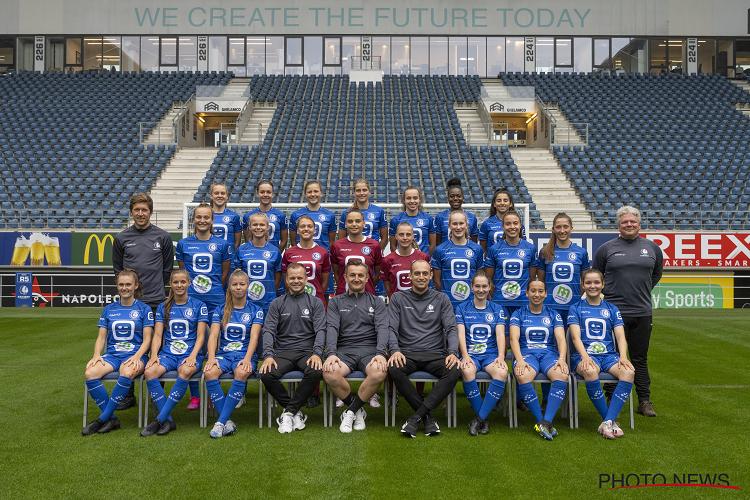 Primeur voor KAA Gent Ladies in Ghelamco Arena