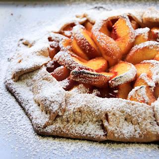 Easy Rustic Peach Galette