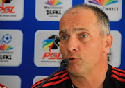 Vladislav Heric (Ajax CT MDC Coach) during the Multichoice Diski Challenge press conference at Ikamva on January 14, 2016 in Johannesburg.