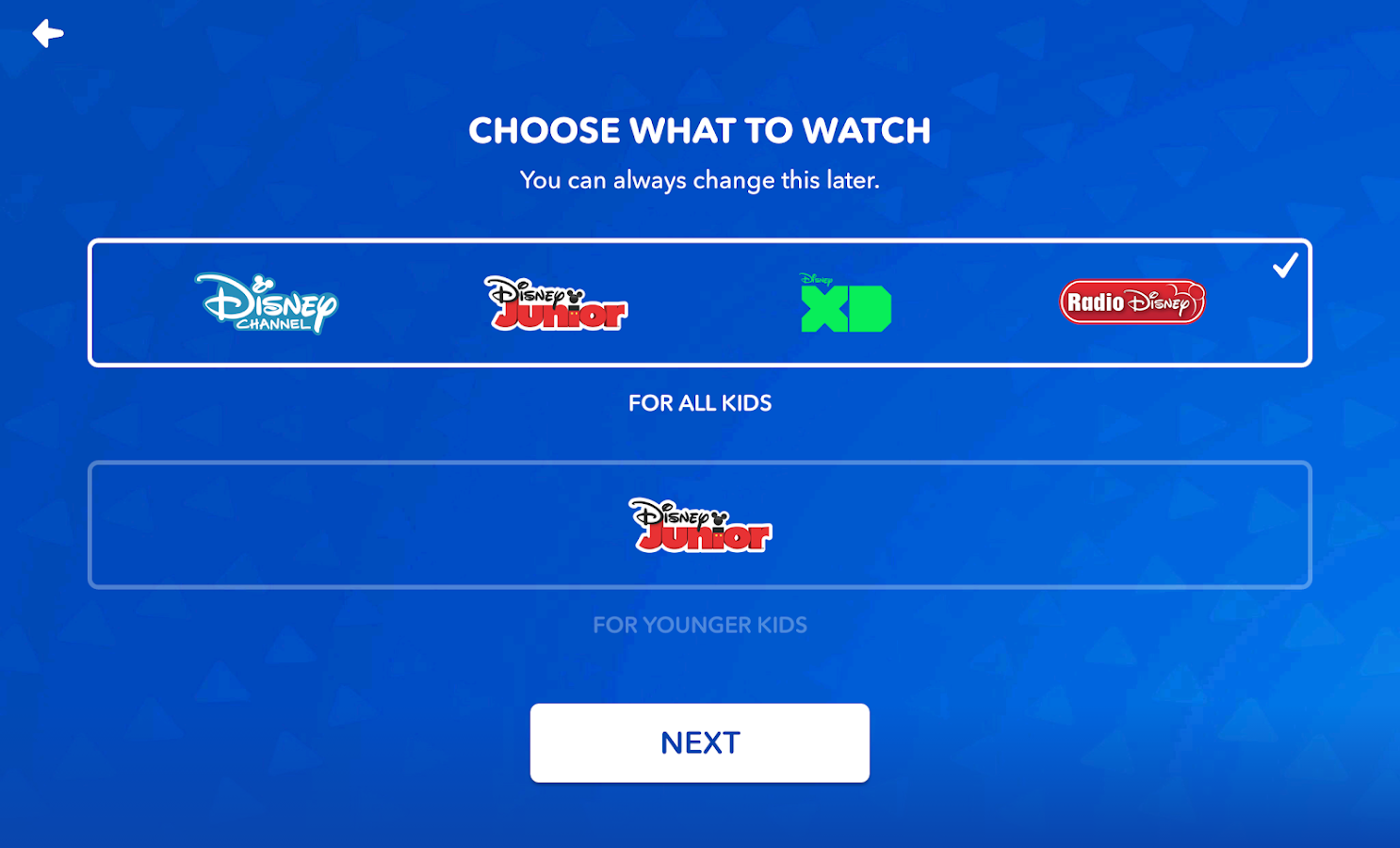 DisneyNOW – TV Shows & Games – Capture d'écran