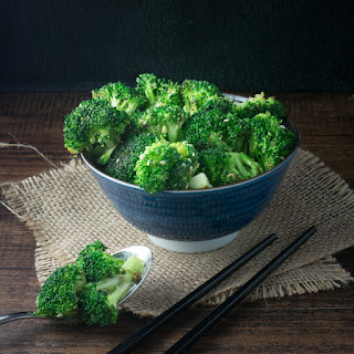 Stir Fry Sesame Broccoli.