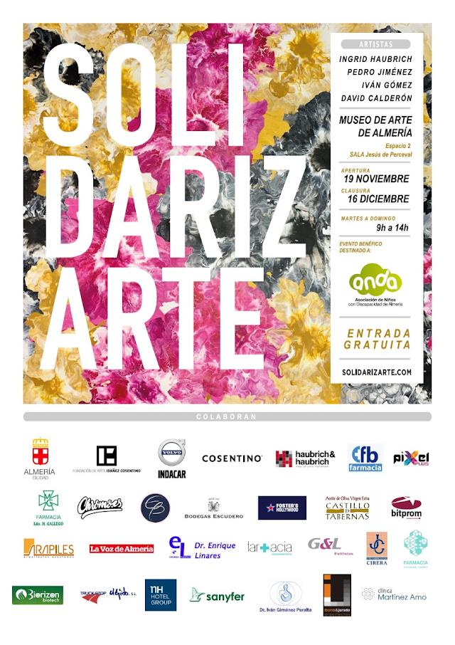 Cartel de la edición de 2020 de SolidarizArte.