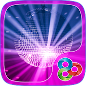 Disco Music GO Launcher Theme