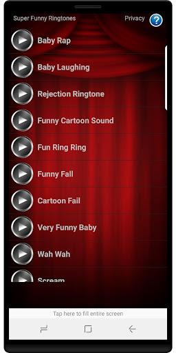Super Funny Ringtones Screenshot