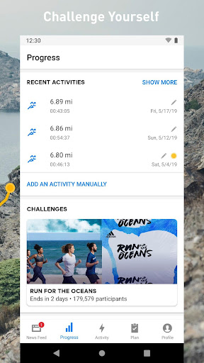 Runtastic screenshot 4
