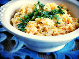 Fresh Tomato Infused Rice Recipe