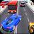 Car Racing in Fast Highway Traffic Icône