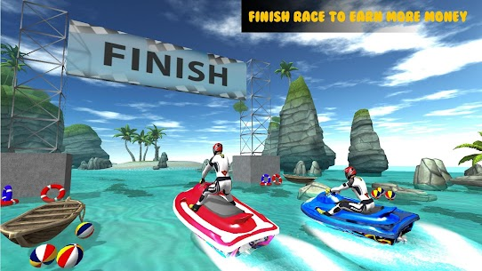 Jet Ski Racing Stunts : Fearless Water Sports Game 3