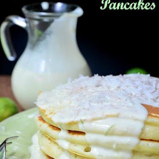 Key Lime Cheesecake Pancakes