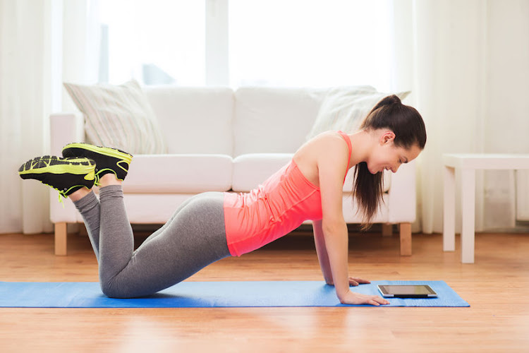 Online yoga classes are the latest home fitness trend for relaxing body and mind.