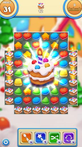 Cookie Macaron Pop : Sweet Match 3 Puzzle filehippodl screenshot 4