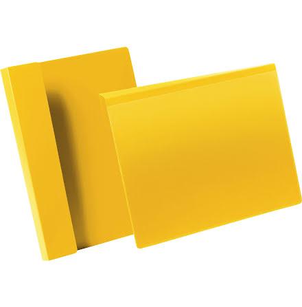 Pallficka A4L vikbar kant gul