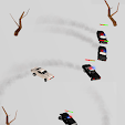Survival Derby 3D - car racing & running game icon