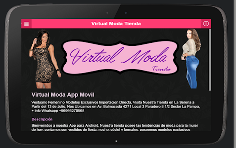 Virtual Moda Tienda screenshot 2