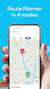 GPS Navigation – Map Locator & Route Planner 3