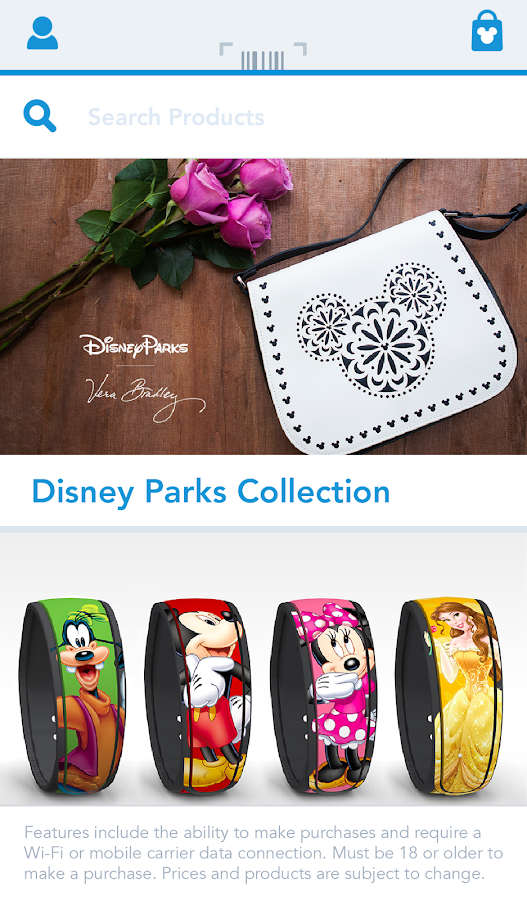 Shop Disney Parks- screenshot